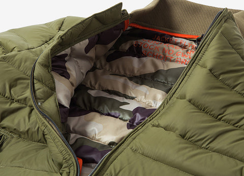 Schott NYC Norfolk Jacket - Khaki Green