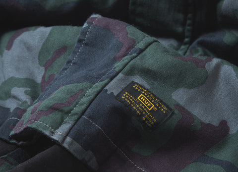 HUF Cloak Fishtail Parka Jacket - Camo