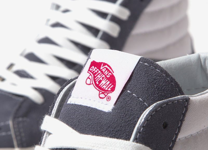 Vans Sk8-Hi 38 DX 'Anaheim Factory' Shoes - OG Dark Grey