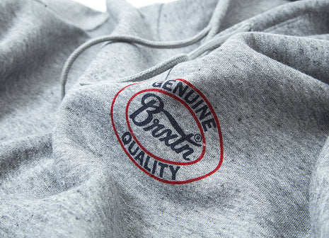 Brixton Merced Pullover Hoody - Heather Grey