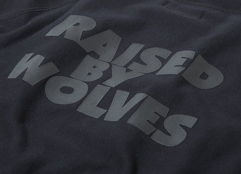 Raised By Wolves x Black Sabbath Masters Of Reality Raglan Sweatshirt - Black