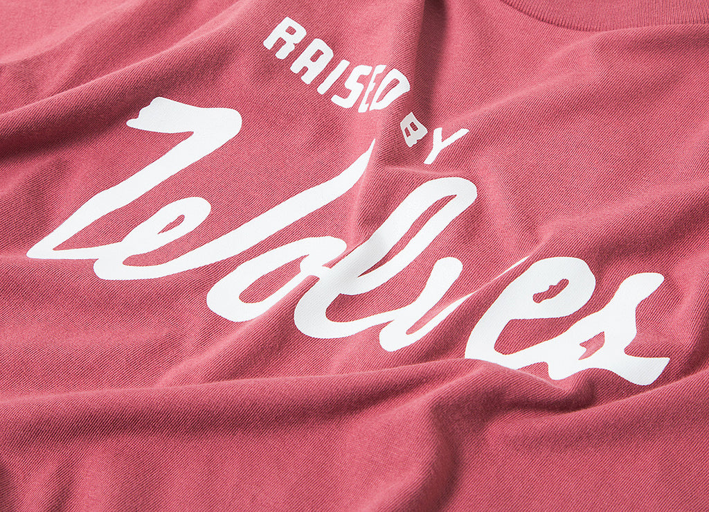 Raised By Wolves Varsity T Shirt - Wine