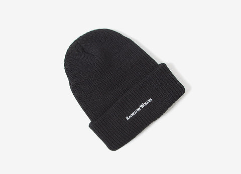 Raised By Wolves Ranger Watchcap Beanie - Black