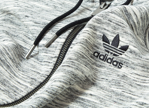 adidas Originals Premium Trefoil Hoody - Medium Grey