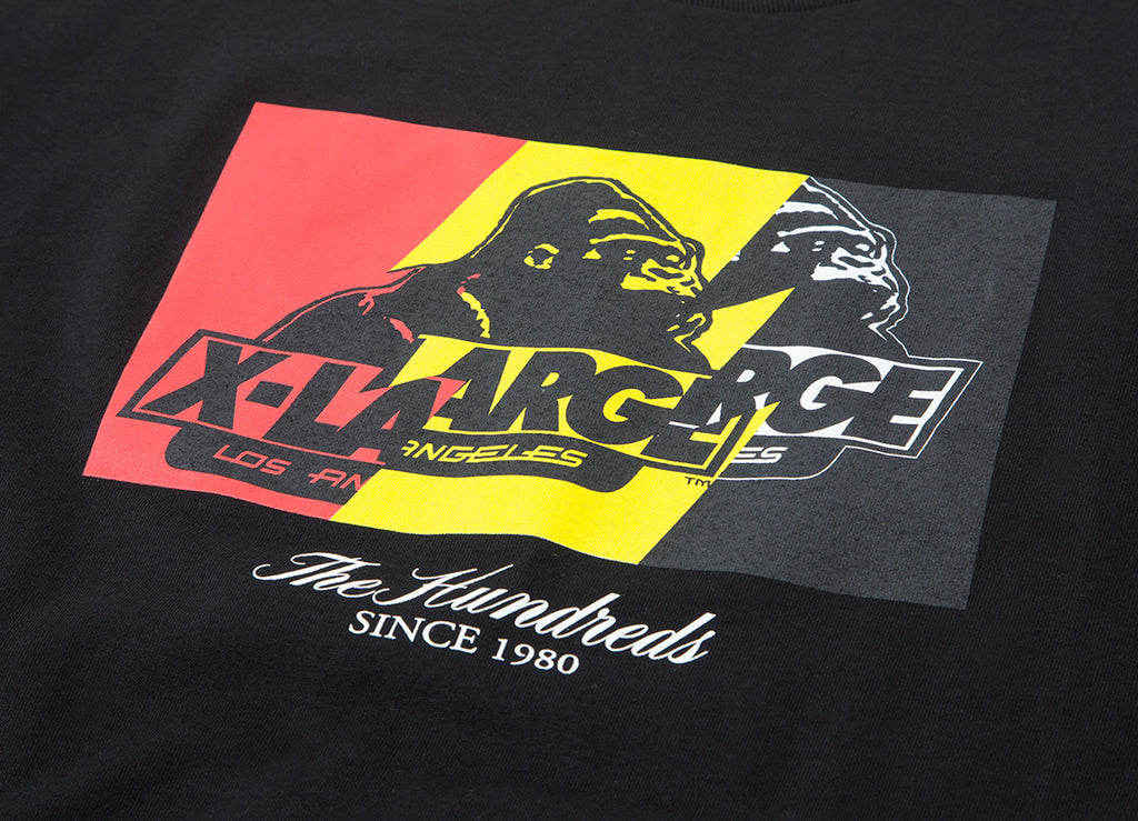 The Hundreds x XLarge Wildfire-X T Shirt - Black