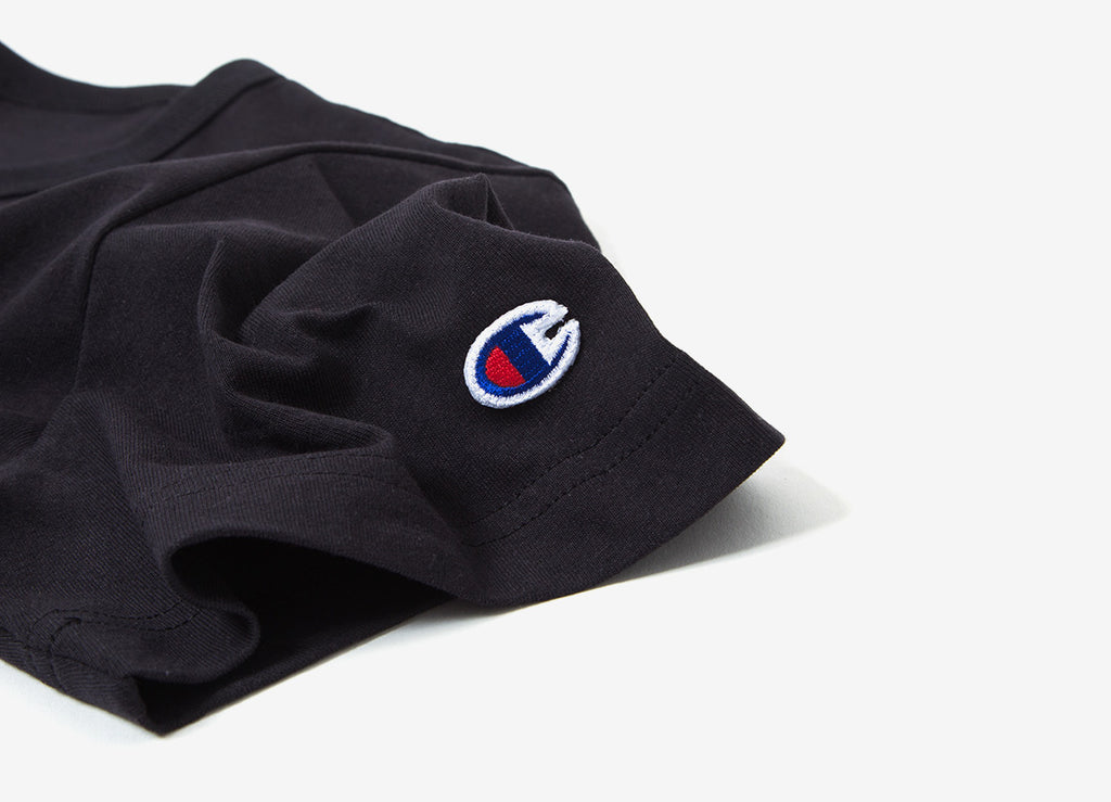 Champion Reverse Weave Classic T Shirt - Black