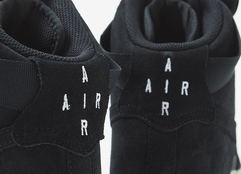 Nike Air Force 1 High '07 LV8 Shoes - Black/Black-Gum