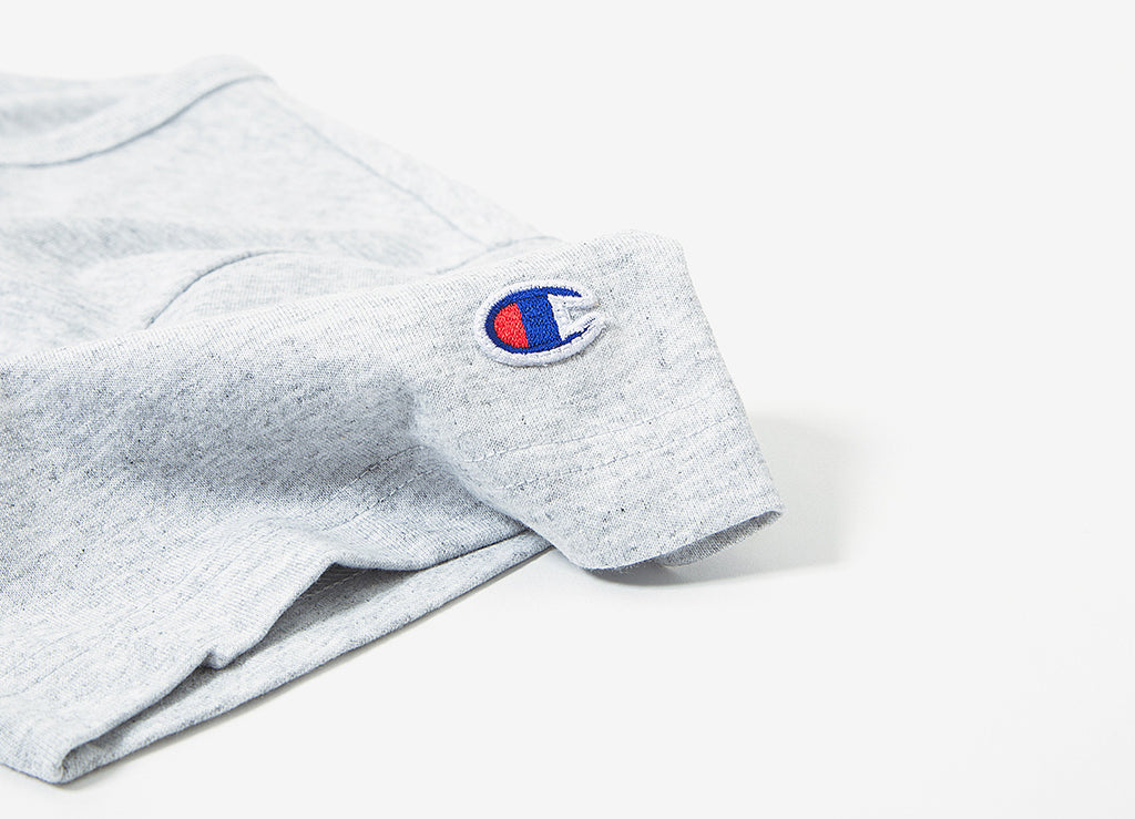 Champion Reverse Weave Classic T Shirt - Grey