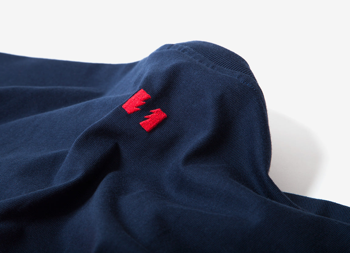 The Hundreds Club Knit T Shirt - Navy