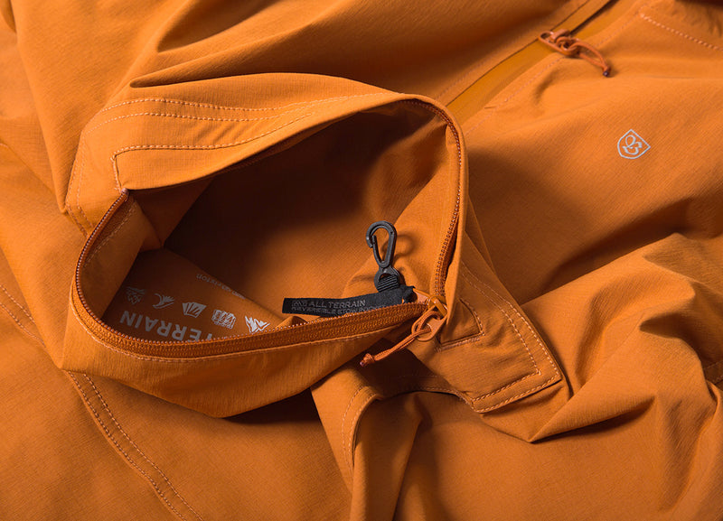 Brixton Patrol AT Anorak Jacket - Burnt Orange