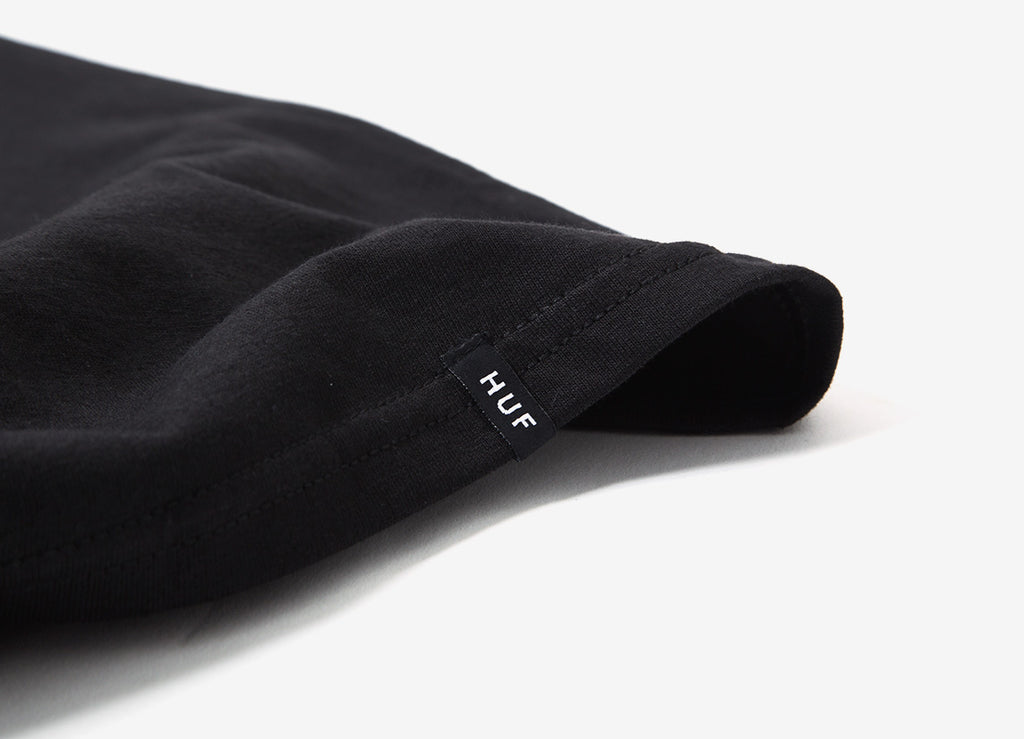 HUF Below T Shirt - Black