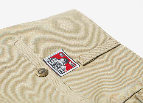 Ben Davis Trim Fit Workpants - Khaki