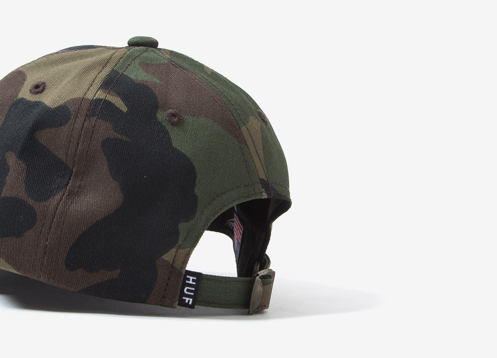 HUF Ambush Curved Visor 6 Panel Dad Cap - Camo