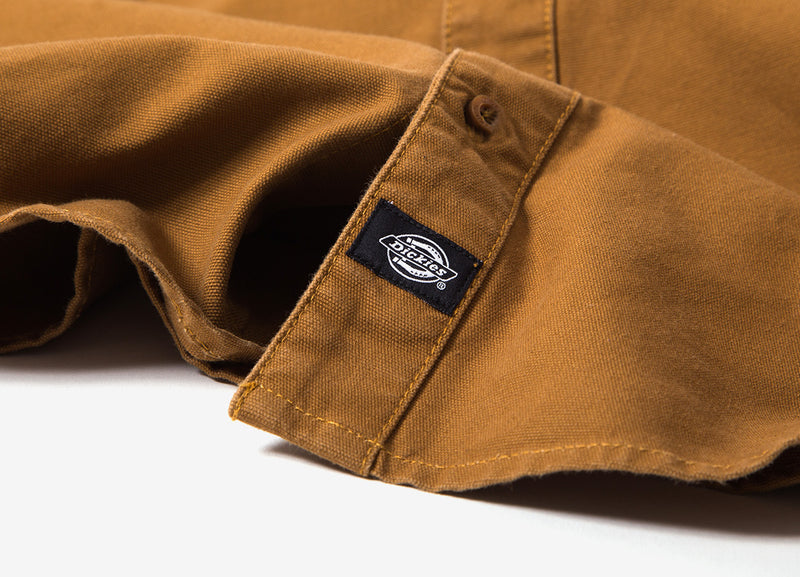 Dickies Coalton Shirt - Brown Duck