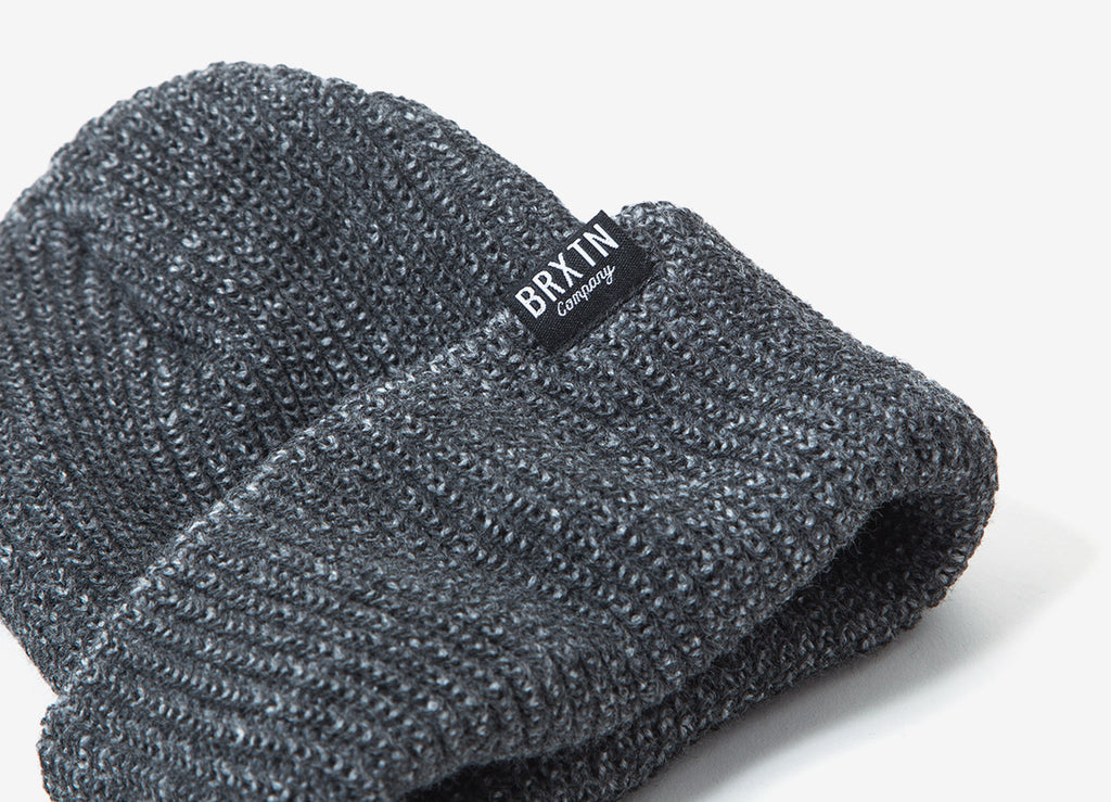 Brixton Redmond Beanie - Grey/Black
