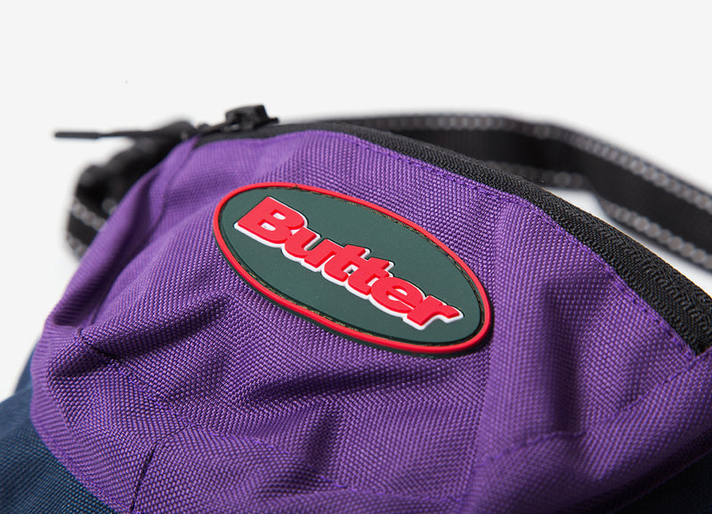 Butter Goods Trail Hip Pack Bag - Navy/Purple