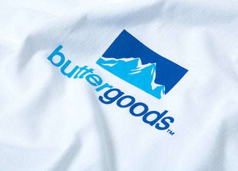 Butter Goods Search T Shirt - White