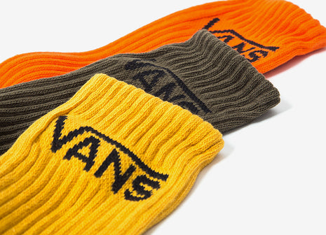 Vans Classic Crew Socks (3 Pack) - Multi