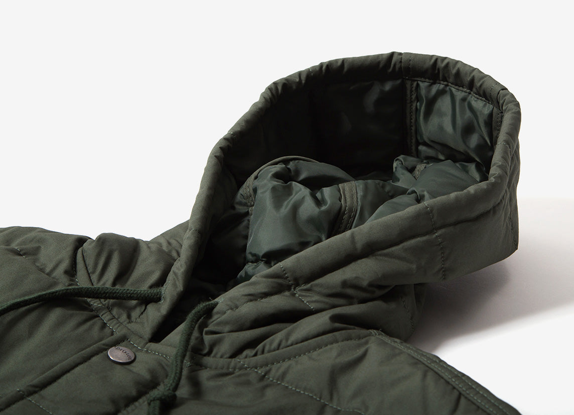 Brixton Cass Hooded Jacket - Pine