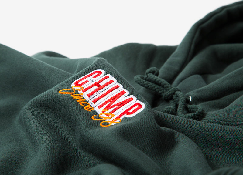 Chimp Stacked Pullover Hoody - Alpine Green