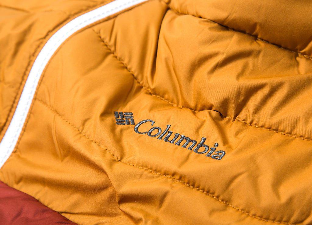 Columbia Powder Lite Hooded Jacket - Rusty Canyon Gold