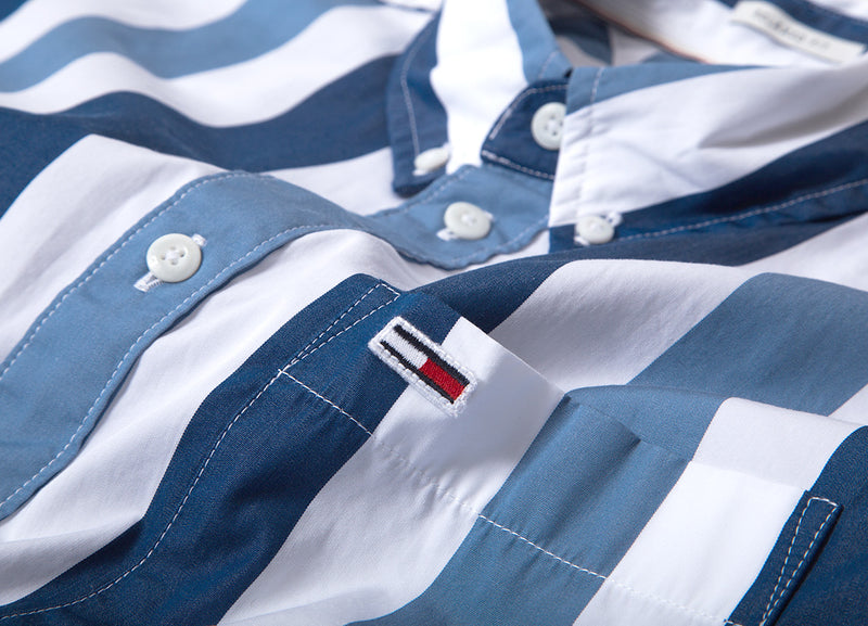 Tommy Jeans Classics Stripe Shirt - White/Multi