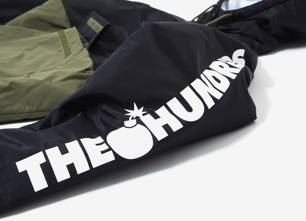 The Hundreds Dell 2 Puffer Anorak Jacket - Black