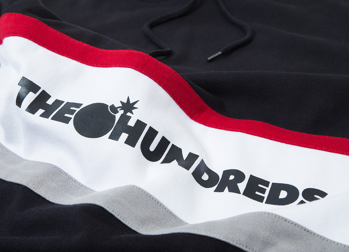 The Hundreds Briggs Pullover Hoody Black
