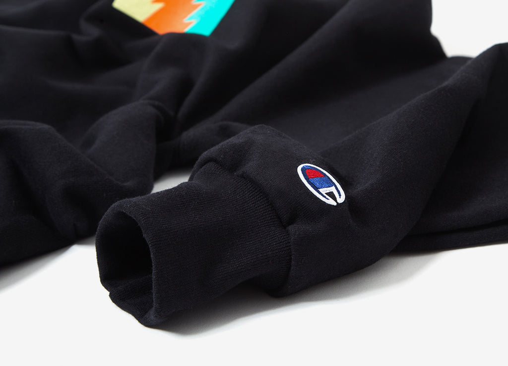 The Hundreds Wildfire 6 Crewneck Sweatshirt - Black
