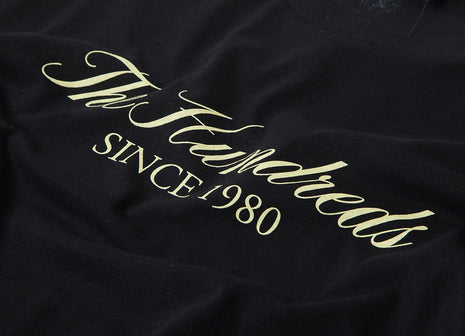 The Hundreds Rich Logo T Shirt - Black