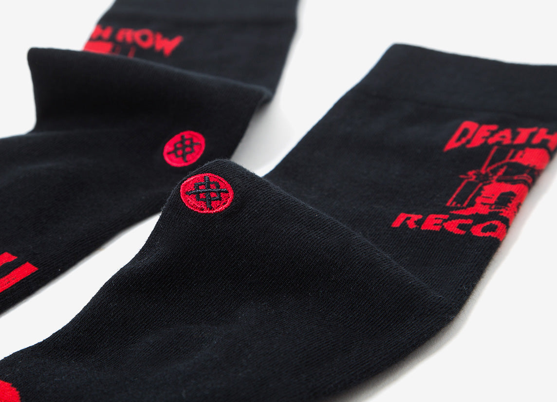 Stance Anthem Death Row Socks - Black Socks - Black