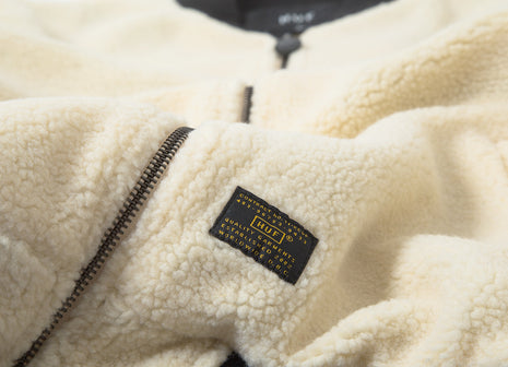 HUF Sherpa Bomber Jacket - Natural