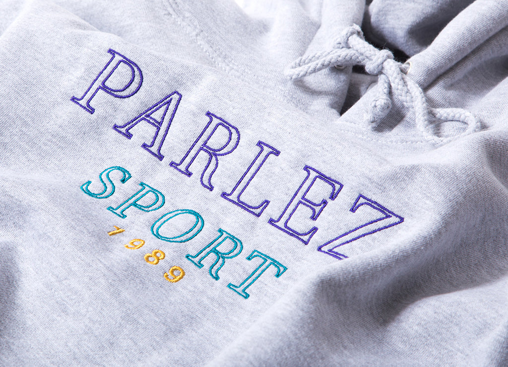 Parlez Trace Pullover Hoody - Heather Grey