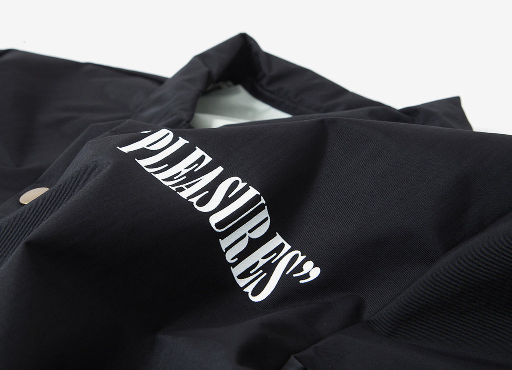 Pleasures Watching You Coach Jacket - Black