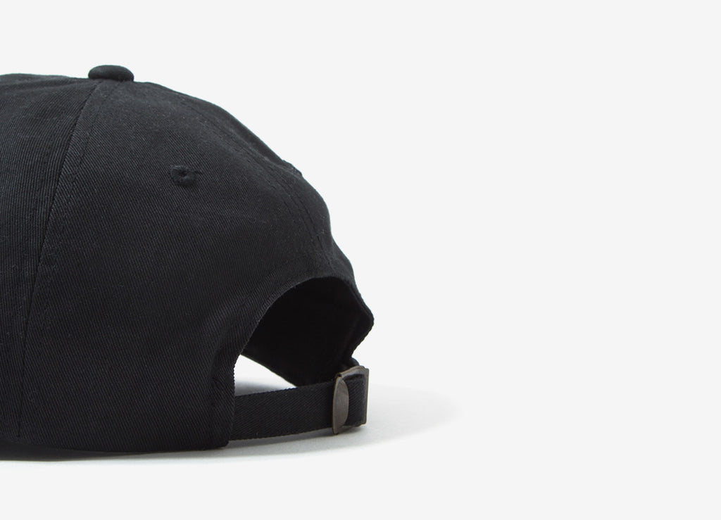 Chimp Throwback 6 Panel Dad Cap - Black