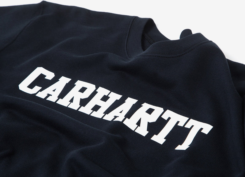 Carhartt College Sweatshirt - Black/White