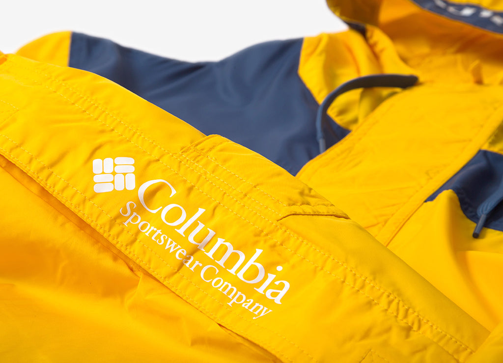 Columbia Challenger Windbreaker Jacket - Stinger/Carbon