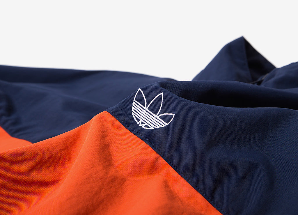 adidas Originals Blocked Warm Up Jacket - Raw Amber/Collegiate Navy