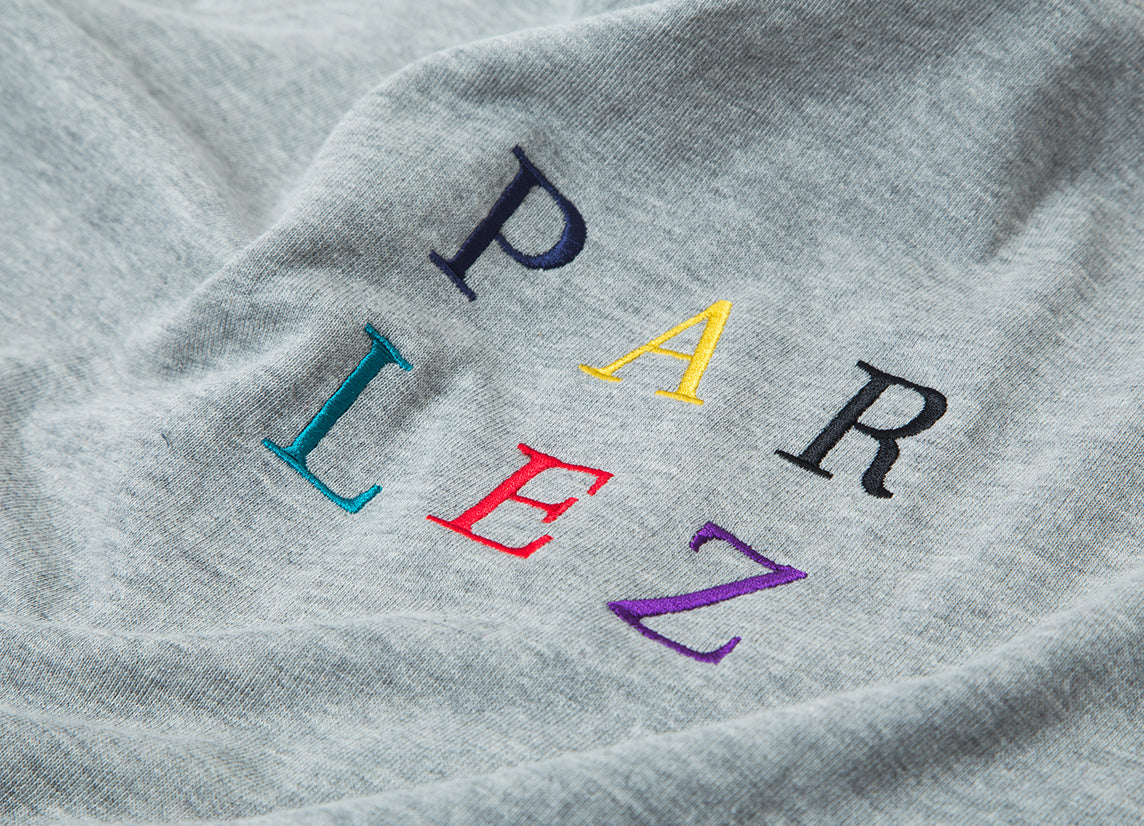 Parlez Block Crew Crewneck Sweatshirt - Heather