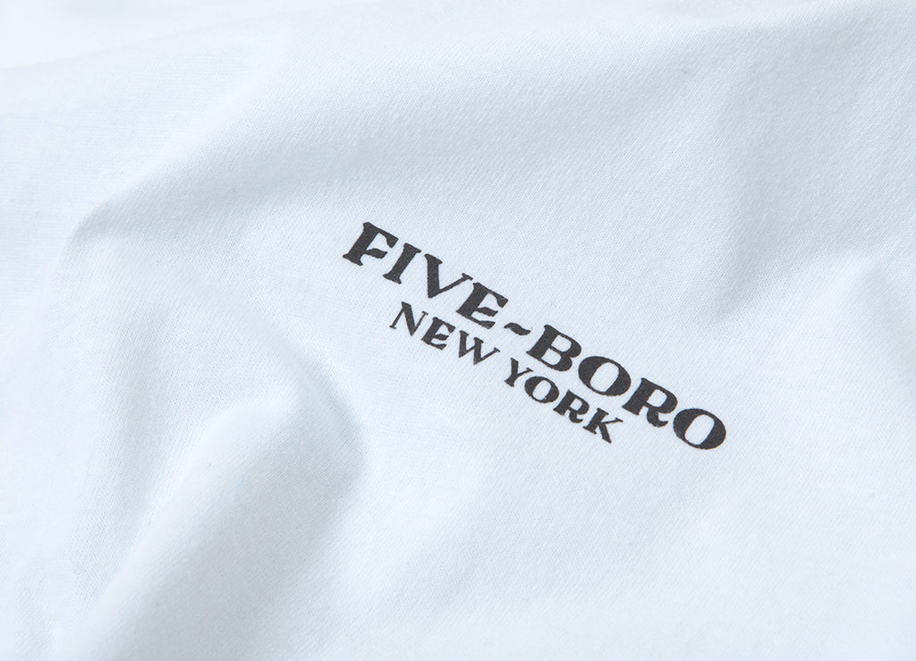5Boro Lover Fighter T Shirt - White