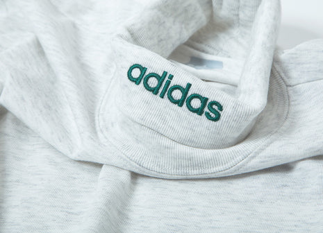 adidas Originals High-Collar T Shirt - Ash Heather