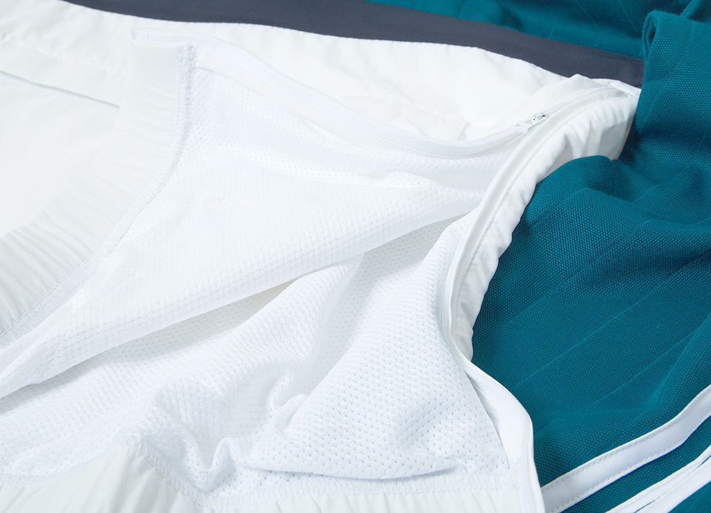 adidas Originals Drill Pullover Sweatshirt - Real Teal/White