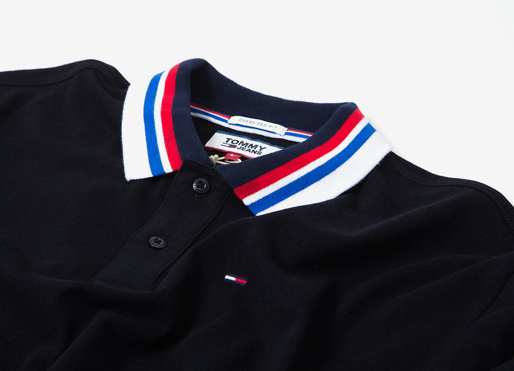 9beeb117b7d2 Tommy Jeans Contemporary Polo Shirt | Tommy Jeans | Tommy Polo | The ...