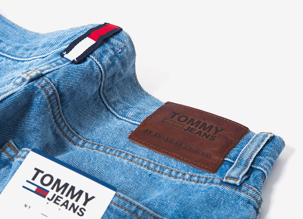 Tommy Jeans Relaxed Cropped Randy Jeans - Light Blue Rigid