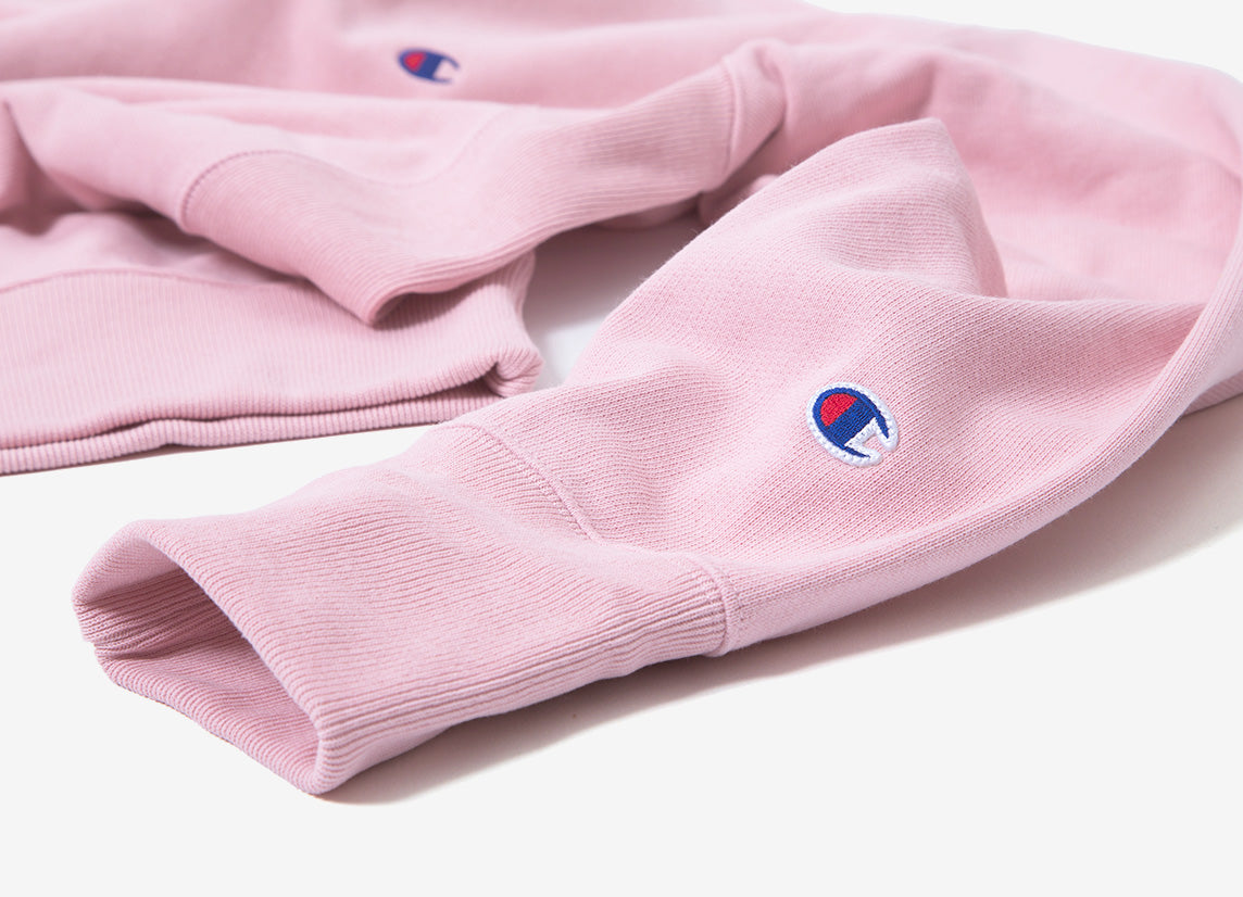 Champion Reverse Weave Pullover Hoody - Pink