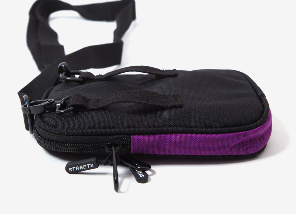 StreetX Allover Print Shoulder Bags - Purple