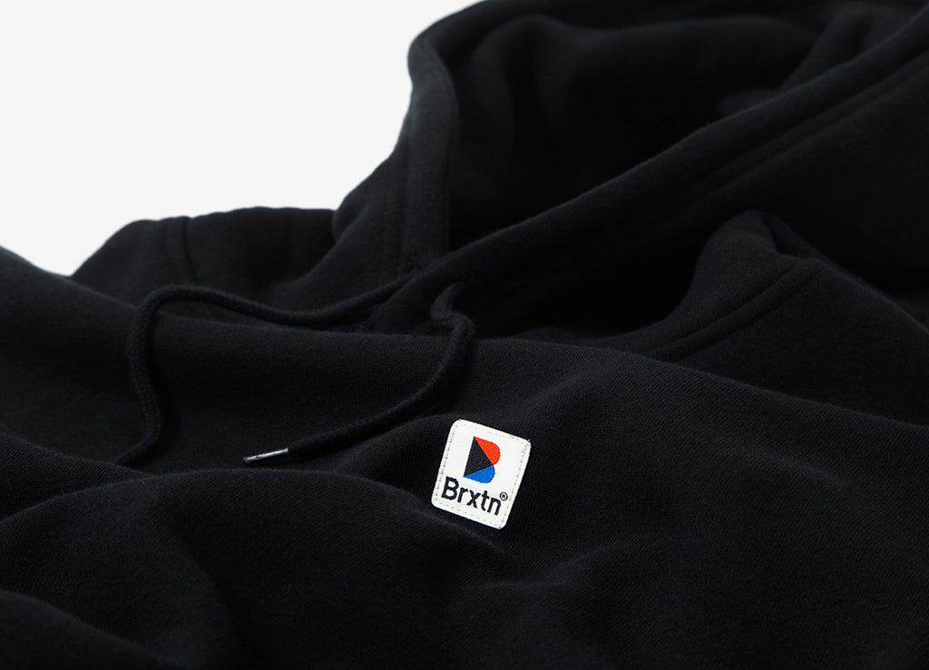 Brixton Stowell Intl Pullover Hoody - Black