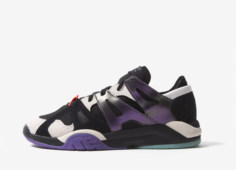 adidas Originals Dimensions Low Top Shoes - Core Black/Raw White/Active Purple