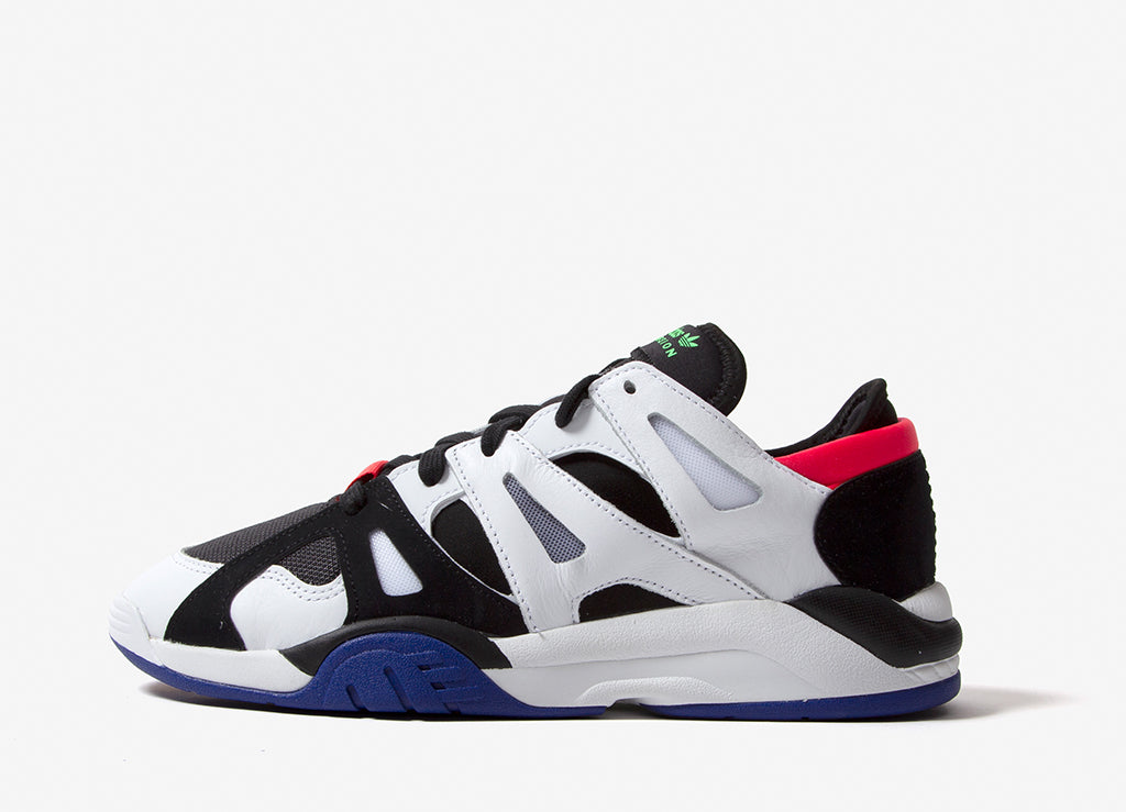 adidas Originals Dimensions Low Top Shoes - Core Black/Footwear White/Active Blue