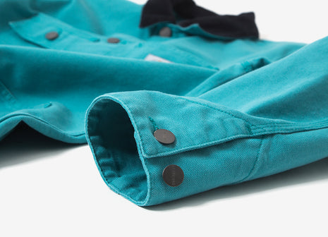 Carhartt Michigan Chore Coat - Soft Teal/Dark Navy